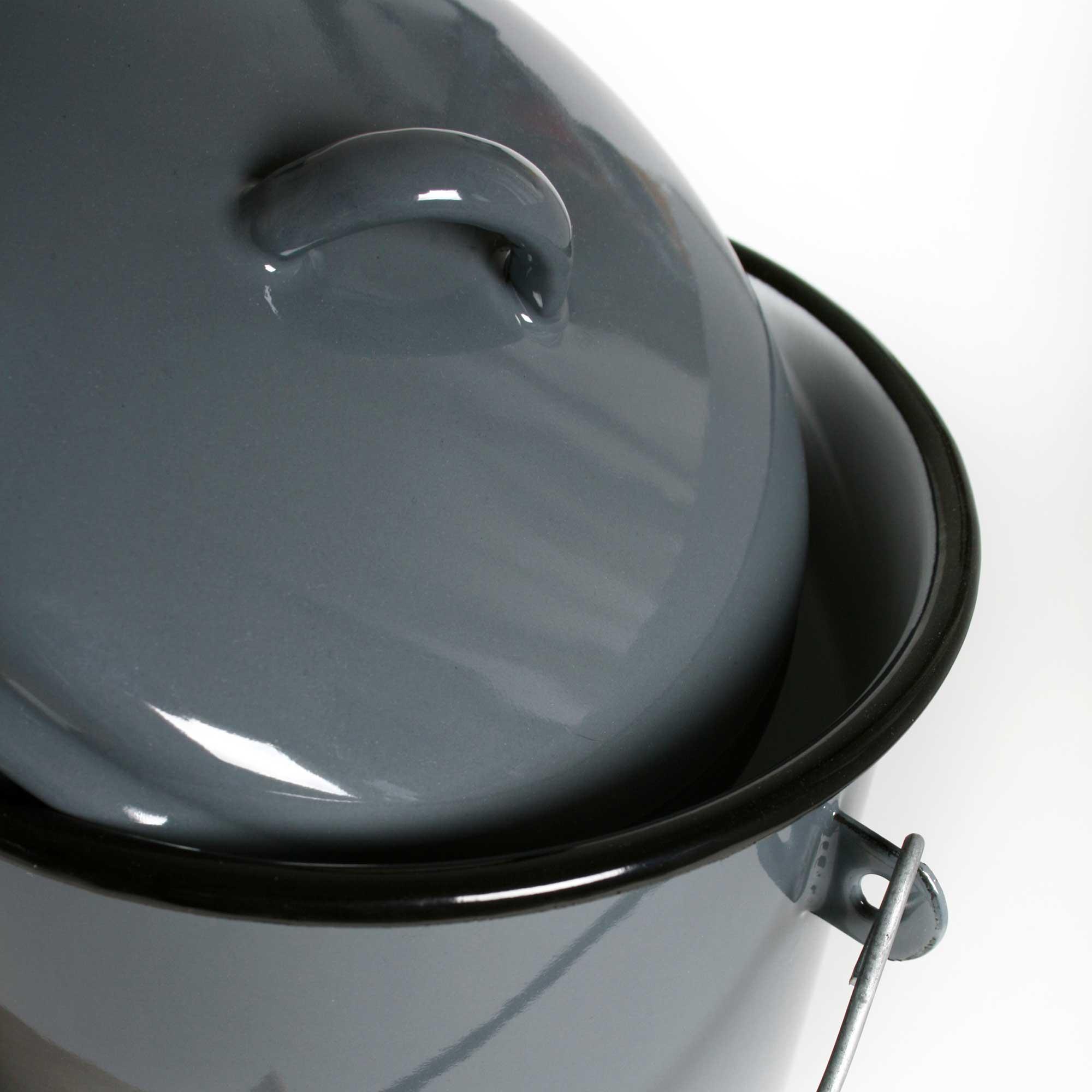 emaille eimer 17 cm. Black Bedroom Furniture Sets. Home Design Ideas